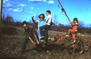 My Dad, Mom, sister & me. Circa 1966.