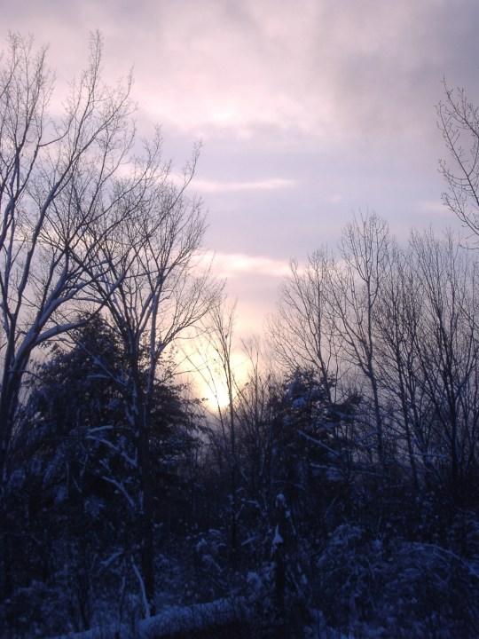 Tug Hill Snow Sun
