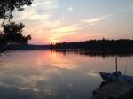 Forked Lake sunset3