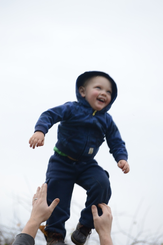 Evan Defies Gravity